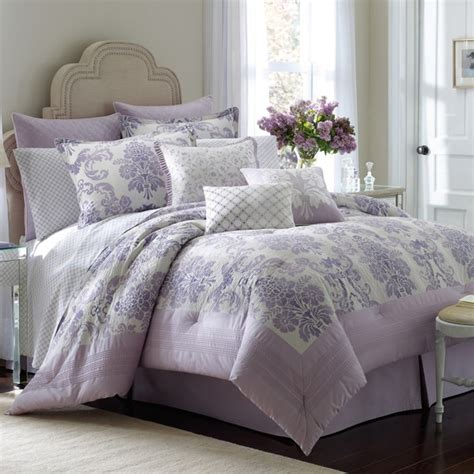lavendar bedding laura ashley addison comforter set on pinterest discover