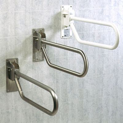 handicap grab bars handrails bathroom safety rails