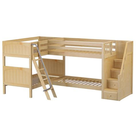 corner loft bed combine two or more beds corner loft beds triple quad