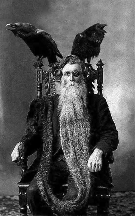 "ASSertive discipline: "" Hans Langseth posing as Odin"