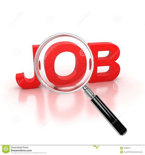 lavoro macerata offerte di lavoro icona di ricerca di lavoro 3d illustrazione di stock