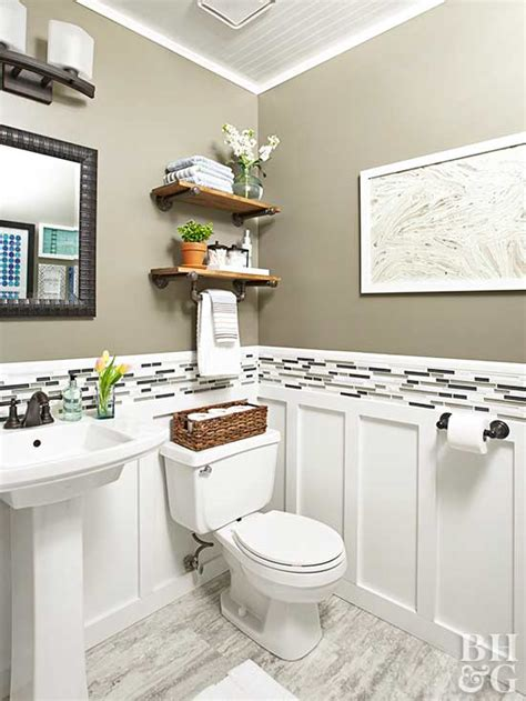 renovation rescue small bathroom   budget
