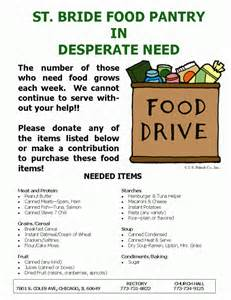 church of food pantry needs assistance