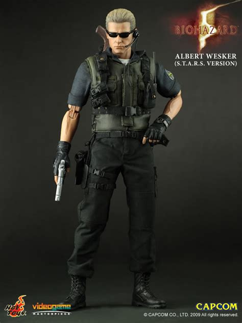 Sheery Collection Series 10 toys resident evil 5 albert wesker s t a r s version