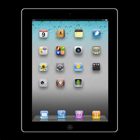 jailbreaked ipad 2 template by macosxlionfanatic on deviantart