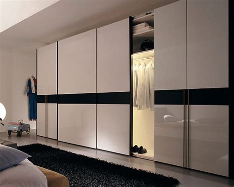 White Gloss Sliding Door Wardrobe by Modern Sliding Wardrobe Design Ifresh Design