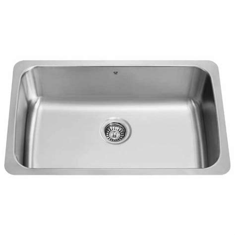 18 Inch Kitchen Sink Vigo 30 Inch Undermount Stainless Steel 18 Single Bowl Kitchen Sink Kitchensource