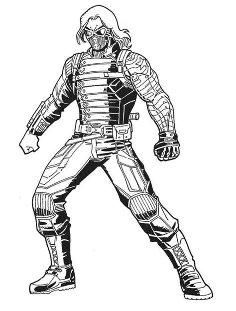 Mr Color 2 Black By Ota Heaven soldado de invierno guardianes de la galaxia dibujos para