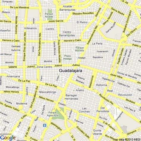map of guadalajara map of guadalajara jalisco mexico hotels accommodation