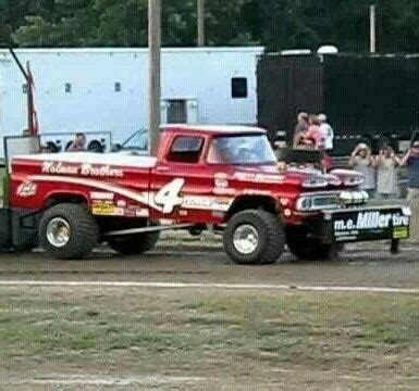 old chevy pulling truck. great body style, great name