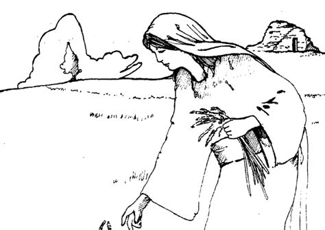 free bible coloring pages ruth free the story of ruth coloring pages
