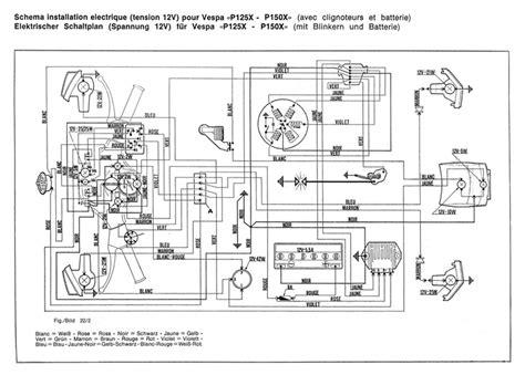 vespa px 150 wiring diagram 27 wiring diagram images