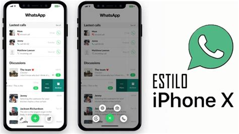 tutorial de whatsapp para iphone whatsapp iphone x para cualquier android sin root youtube