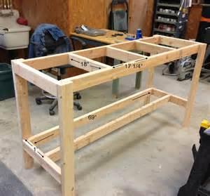 diy garage work bench wilker do s diy workbench