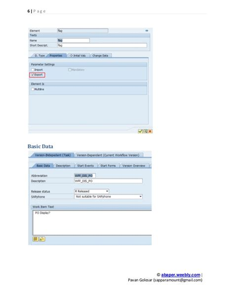 tcode for workflow in sap sap workflow po create workflow by pavan golesar