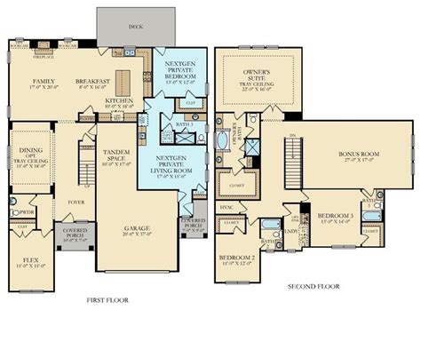 multi generational home floor plans multi generational house plans numberedtype