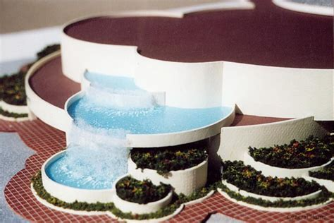 Residential Architecture Design Architectural Model Los Angeles Retail Center
