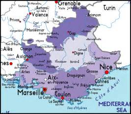 Map Of Provence France by Travel Maps And Plans Of Provence France