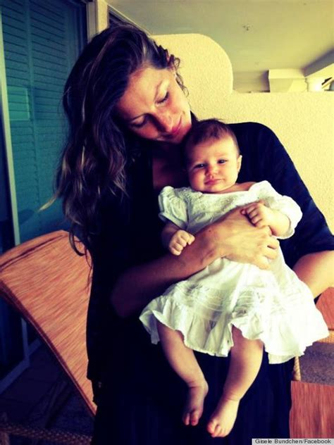 Vivian Lake, Gisele's Baby Girl, Makes Debut On Facebook ... Laura Pausini Baby Girl