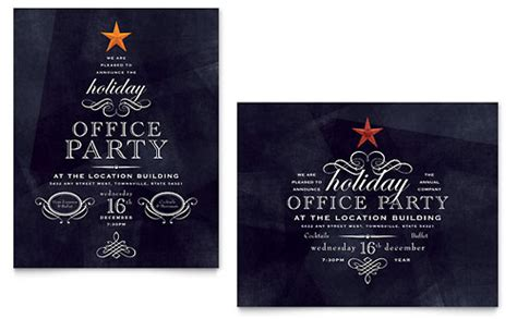 business events invitations microsoft templates
