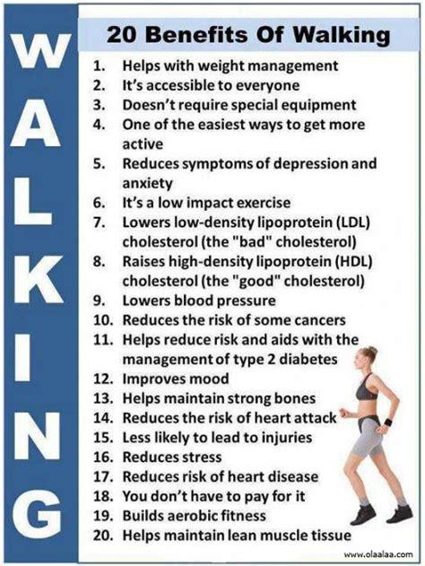 walking tips benefits of walking blood pressure cholesterol depression exercise