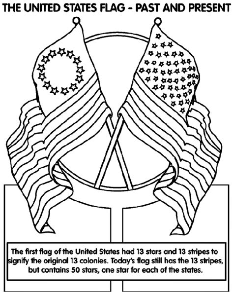 coloring page for united states flag the united states of america flag crayola co uk
