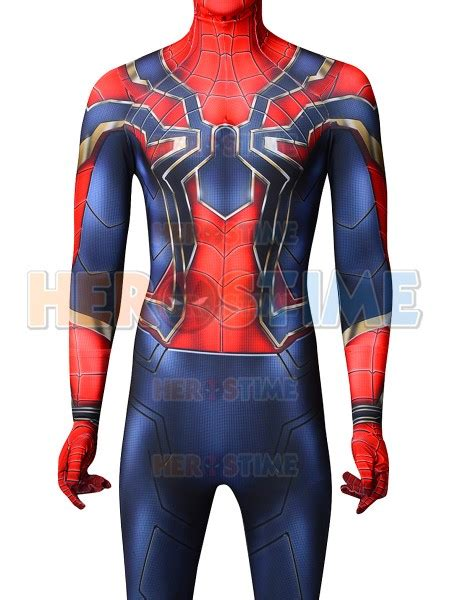 iron spider avengers infinity wars version cosplay costume