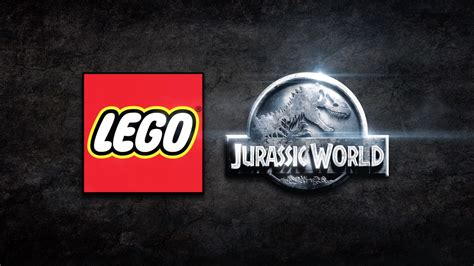 lego jurassic world logo the brickverse lego jurassic world animations