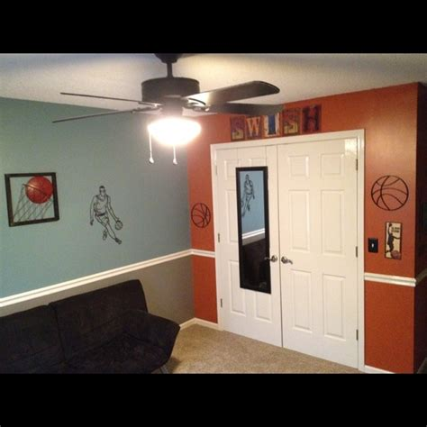 Basketball Room My Kids Ultimate Bedrooms Pinterest Basketball Room