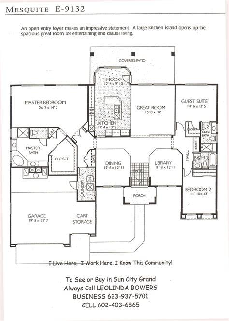 sun city grand floor plans find sun city grand mesquite floor plans leolinda bowers