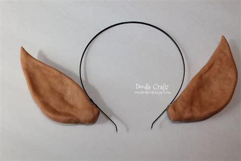 elf headband printable doodle craft elven princess or christmas elf ears