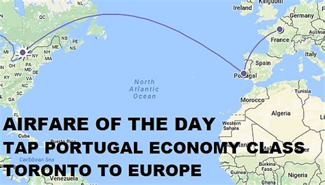 airfare of the day tap portugal economy class toronto destinations in europe usd 420