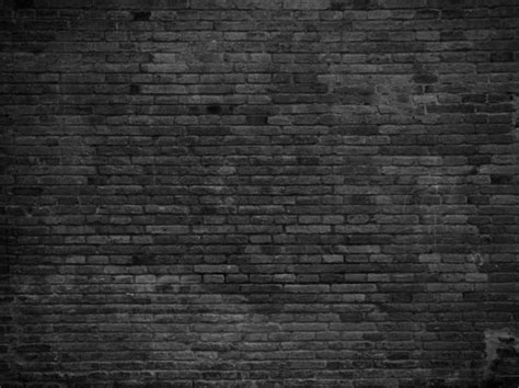 black brick wall wall black painted bricks custom wallpaper