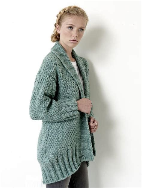 allfree knitting cocoon cardigan allfreeknitting
