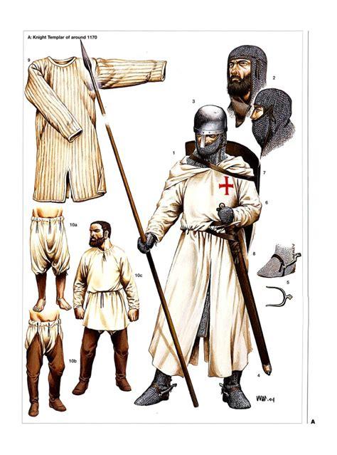 illustrations of knights templar