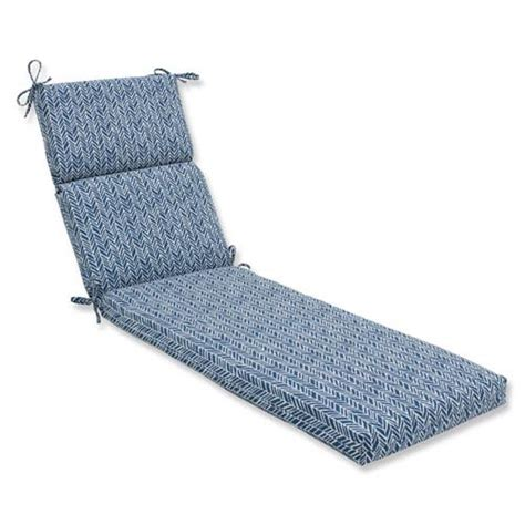 Blue Chaise Lounge Indoor outdoor indoor herringbone ink blue chaise lounge
