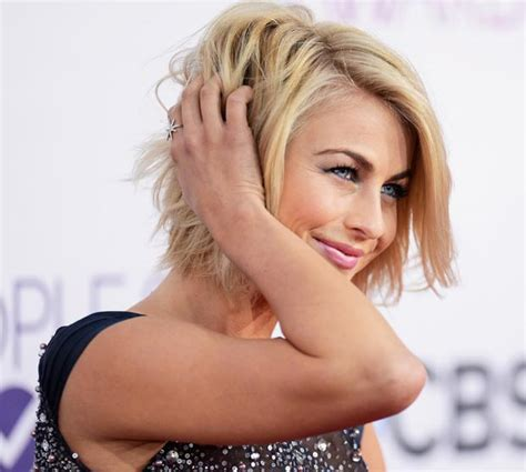back view julianne houge hairstyle julianne hough short haircut back view