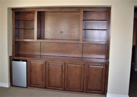 custom armoire cabinet custom entertainment centers designed built