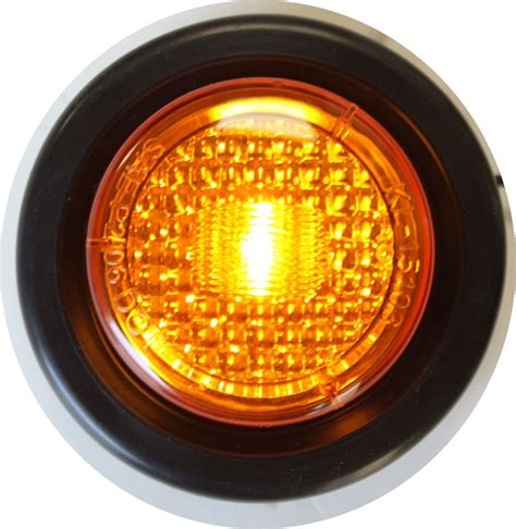 trailer marker lights requirements 3 amber 3 red new led round clearance side marker truck