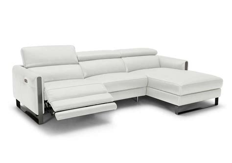 Motion Sectional Sofas Vella Leather Motion Sectional Sofa Leather Sectionals