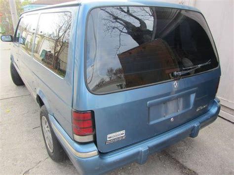 how petrol cars work 1993 dodge caravan instrument cluster purchase used dodge caravan 1993 in berwyn illinois united states
