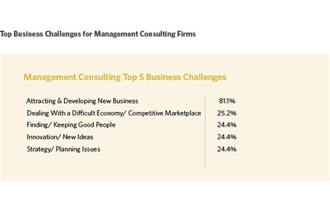 business management challenges top 5 business challenges for management consulting firms