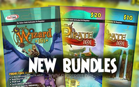 Wizard101 10 Gift Cards - new giftcards hint at prehistoric world swordroll s blog