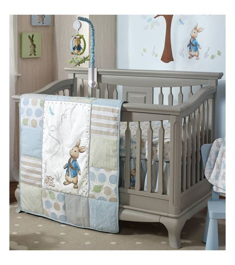 bedding nursery sets lambs rabbit 4 crib bedding set