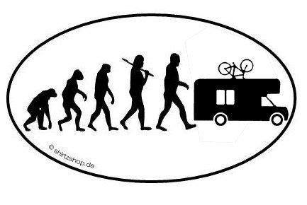 Aufkleber Evolution Wohnmobil by Caravan Cer Wohnmobil Evolution Aufkleber Autoaufkleber