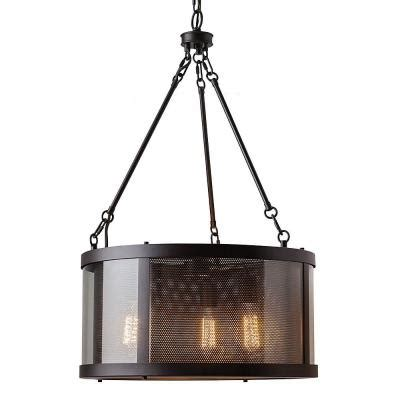 feiss bluffton 3 light rubbed bronze chandelier f2929
