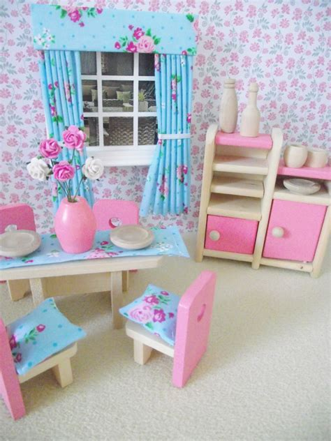 children s miniature dolls house furniture shabby chic