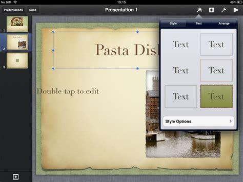 change theme keynote ipad keynote ipad app of the week e learning stuff