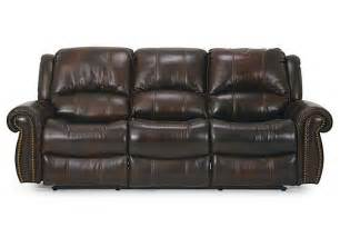 Power Recliner Sofa Leather Dallas Leather Power Reclining Sofa