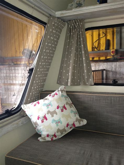 curtains for cervans curtains now in caravan rev caravan ideas